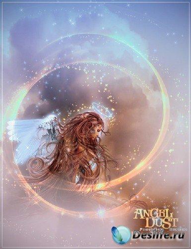 Кисти для Photoshop – Ангельская пыль / Photoshop Brushes – Rons Angel Dust