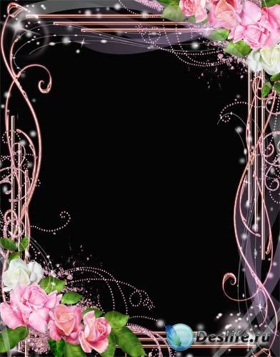 Рамка для фото – Розы для тебя