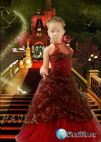Костюм  для Photoshop - Замок из сказки
