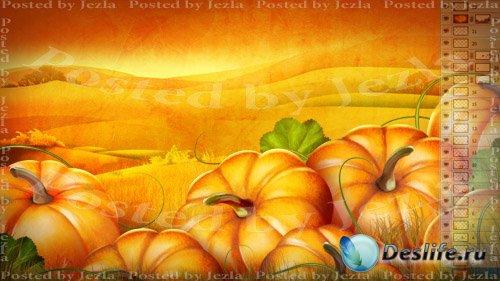 PSD Исходники - Тыква (Pumpkin)