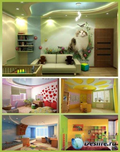Современный интерьер детской 4
