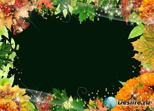 Рамка для фото –  Осенние листья