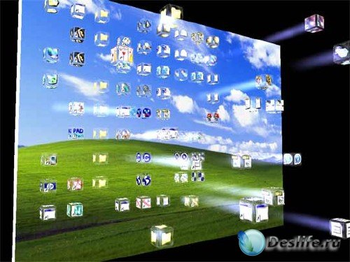 3D заставки для Windows XP, 7, Vista