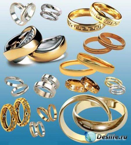 Золотые кольца - PSD исходник