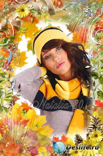Рамочка для оформления фото - Осеннее очарование 4