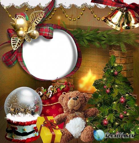 Детская рамка – Подарки под ёлкой