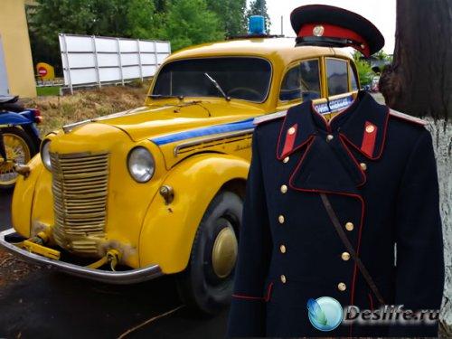 Костюм для фотошопа - Капитан советской милиции