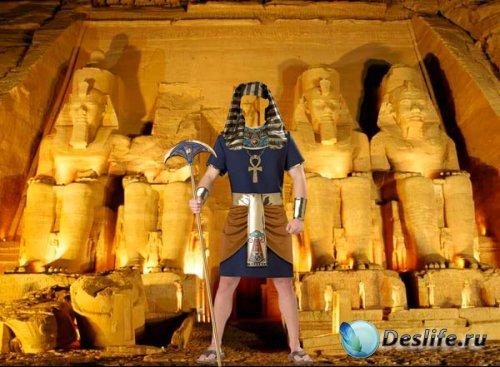Костюм для фотошопа - Египетский воин