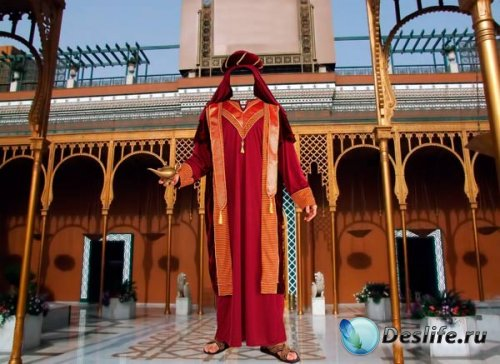Костюм для фотошопа - Арабский шейх
