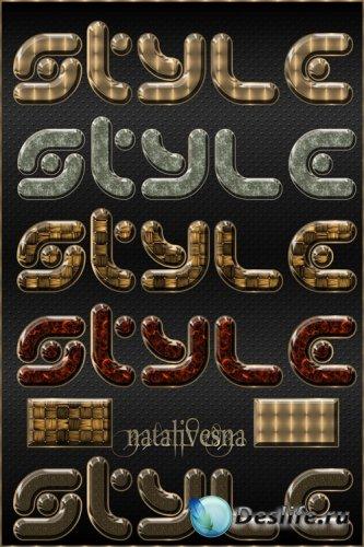 Текстовые стили  №15 / Text styles 15