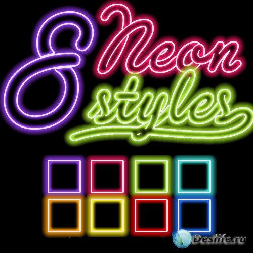 Неоновые стили