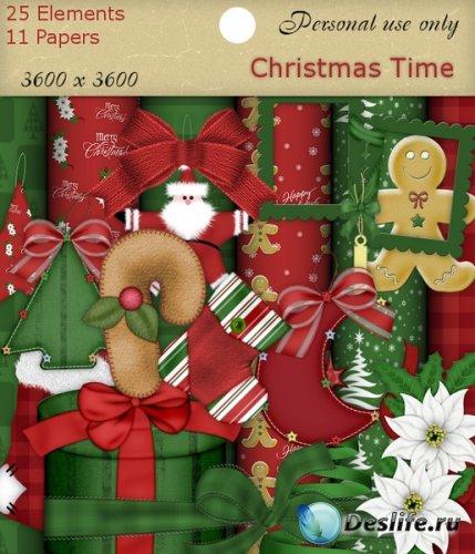 Скрап набор - Рождественская пора