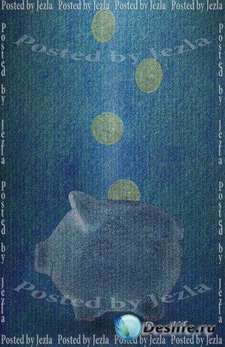 PSD Исходники - Свинья копилка (Piggy Bank)