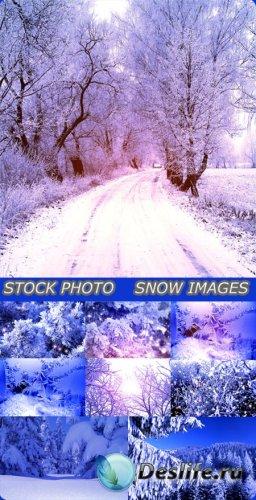 Фотоклипарт - Красивые зимние картинки
