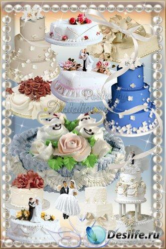 Свадебные торты - Самый сладенький подарок, для влюбленных в этот день…