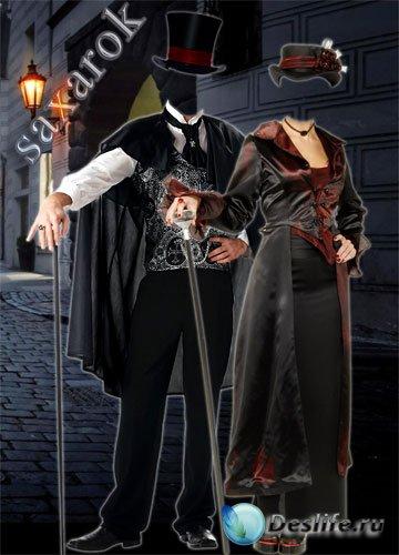 Фотокостюм парный «Вампиры. Поохотимся?!»