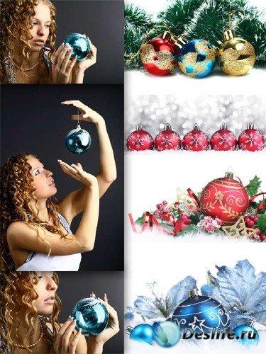 Фотосток: Новогодние елочные игрушки