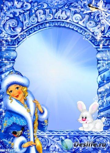 Детская рамка для фото - Новогодняя сказка