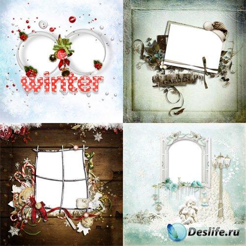 Скрап странички - Рождественские и Зимние