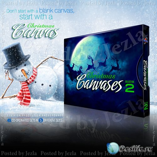 Christmas Canvases Collection 2
