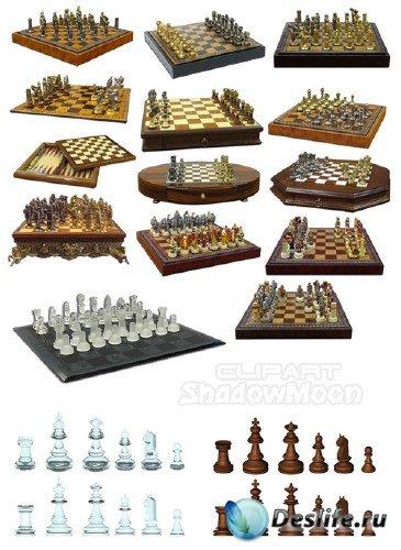 Шахматы, шахматные доски, шахматные фигуры
