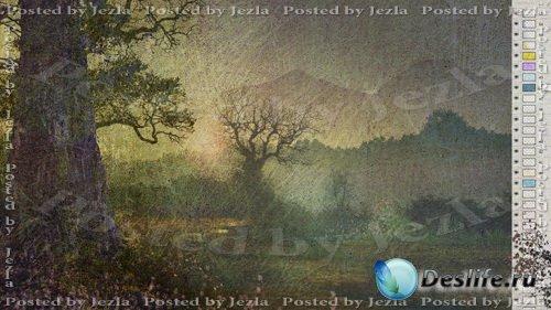 PSD Исходники - Красивый лес (Beauty Forest)