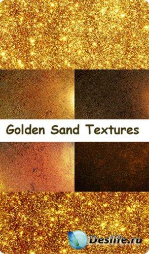 Текстуры для фотошопа - Золотой песок