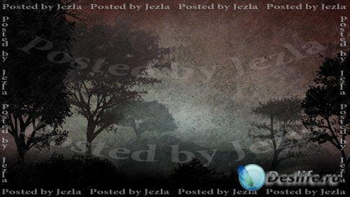 PSD Исходники - Темный лес