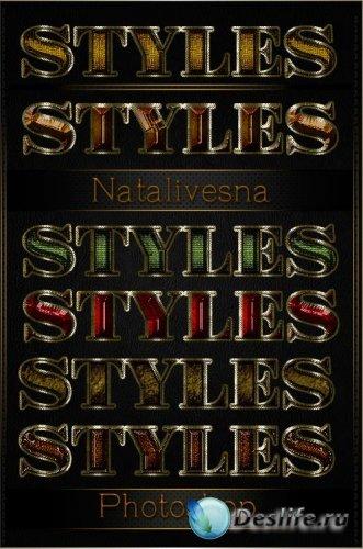 Блестящие текстовые стили №19 / Brilliant text styles 19