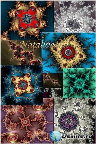 Фракталы – Абстрактные фоны