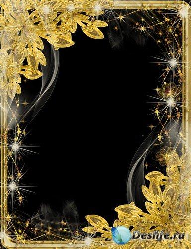Рамка для фото –  Блеск золота