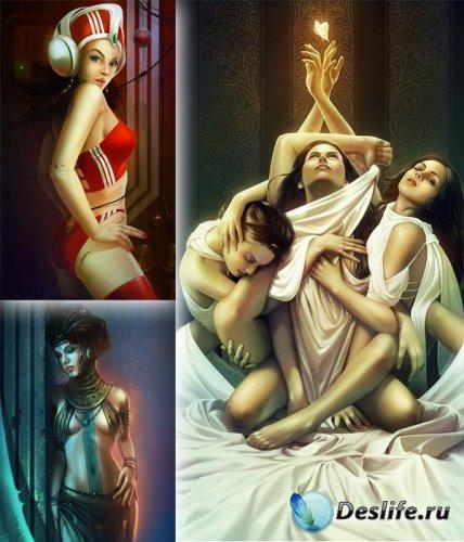 Подборка работ иллюстратора Хери Ираван (Heri Irawan)