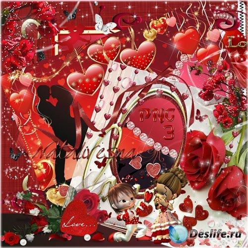 3 Рамочки – Романтика поет в душе моей, и с каждою минутою ты мне становишь ...