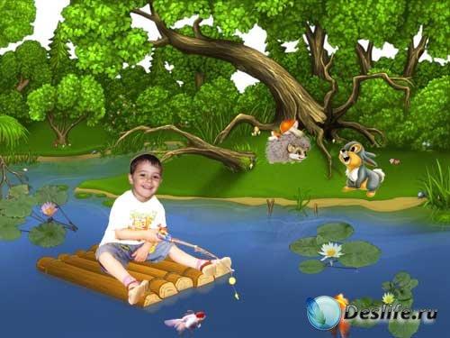 Костюм детский На рыбалке