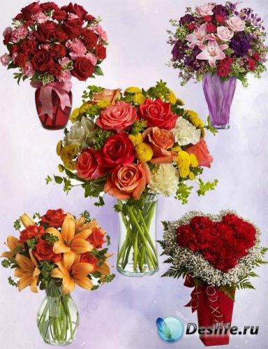 Цветочный набор букетов