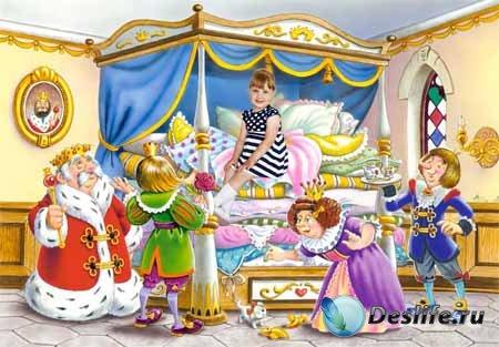 Костюм детский принцесса на горошине