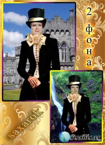 Изящный исторический костюм для девушки