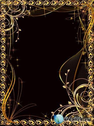 Рамка для фото –  Золотая ночь