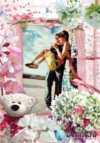 Рамочка - Розовые мечты