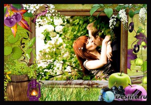 Рамочка - Весенний сад