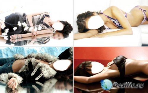 Женские костюмы для Photoshop (Часть 7)