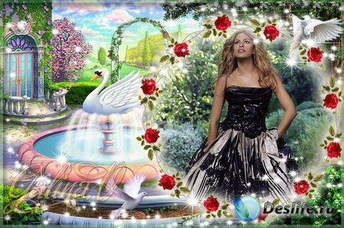 Рамка для фото - Райский сад