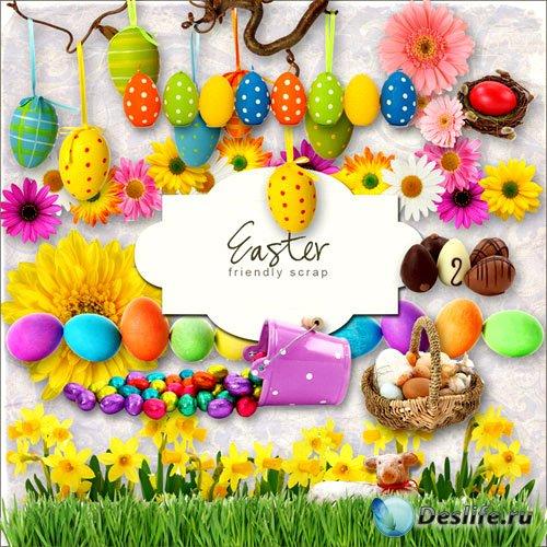 Скрап-набор к празднику Пасхи (Easterset)