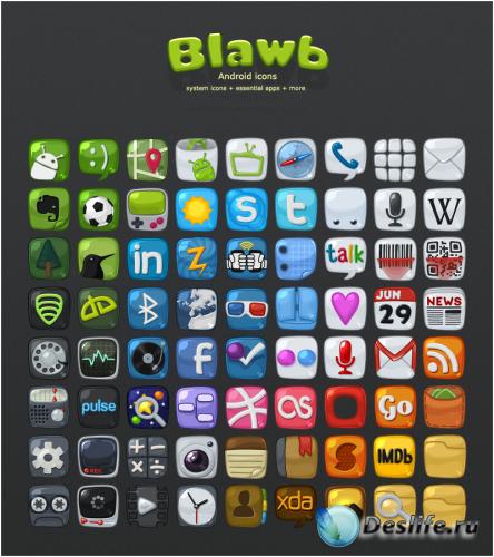Blawb Icons Pack