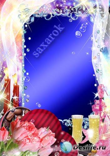 Романтичная рамочка - Волшебный вечер
