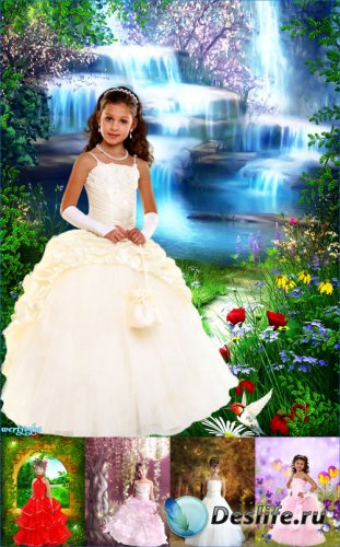 Коллекция детских костюмов для девочек - Маленькие очаровательные принцессы ...