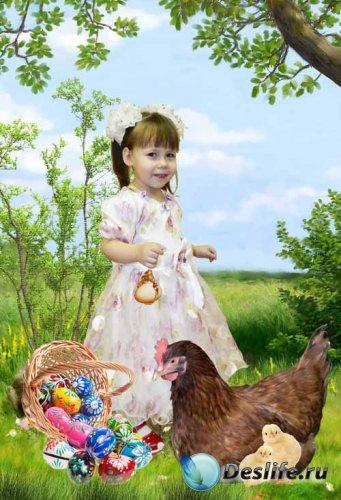 Костюм детский Корзиночка пасхальных яиц