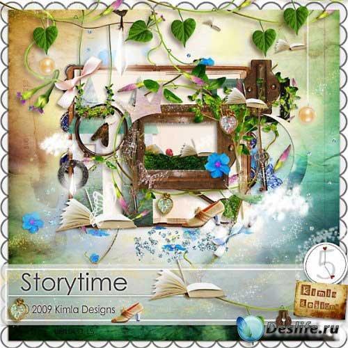 Сказочный детский скрап набор - Время истории. Scrap - Storytime