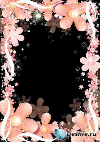 Рамка для фото - Цветочная феерия