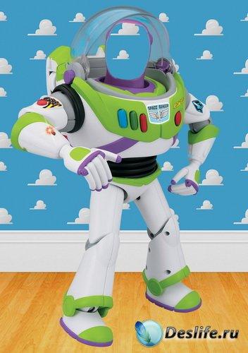 Костюм Buzz-Lightyear История игрушек